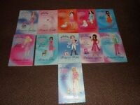 bundle of TIARA CLUB books - childrens / girls
