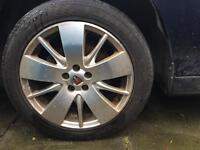 Rover 75 / MG ZT Five starspoke alloys 17 inch
