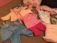 Baby annabell and baby born clothing