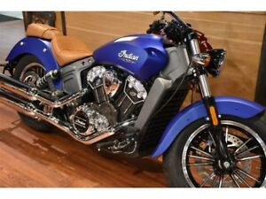 2018 Indian Motorcycles Scout ABS ICON SERIES BRILLANT BLUE SMOK