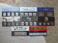 Stamp Presentation Packs 1989 - 1997