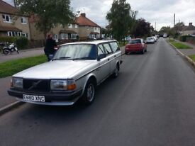 Volvo 240 automatic, has been a reliable family car, comfortable, great runner with long MOT.