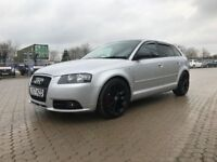 2007│Audi A3 2.0 TDI S Line Sportback 5dr│1 Former Keeper│Full Service History│Recently Serviced