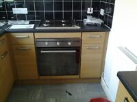 Indesit eletric cooker gas hob