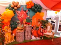 Children's Party -Cake Table -Balloon Arch -Kids Tables and Chairs - Bouncy Castles