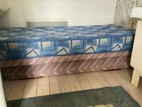 FREE single bed with pullout bed