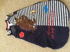 Gruffalo sleeping bag 0-6 months