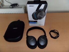 Bose Quietcomfort 25 QC25 Noise Cancelling Headphones in Very Good Condition