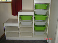 IKEA TROFAST DRAWER/SHELVING UNIT IN VERY GOOD CONDITION
