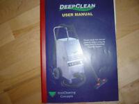 DeepClean Steamer Vacuum