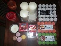 Bundle of candles/tealights