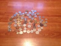 Old coin and foreign coin collection