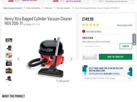 Henry hoover extra