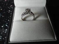 Brand New Diamond Ring with Receipt.