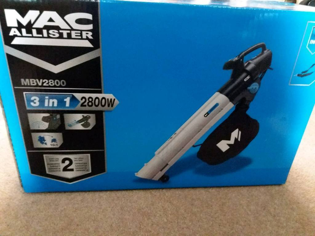 BLOW VACUUM Macallister NEW IN BOX