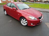 2007 LEXUS IS220D DIESEL 2.2D LTRS MANUAL ENGINE DRIVE SMOOTH £1648 CALL 07440307417