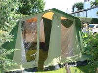 Lichfield Wayfarer 4 berth canvas tent