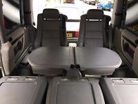 Mercedes V Class (Vito / Viano) Rear Leather Seats & Folding Table