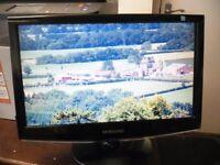 "Samsung Sync master 933sn 18.5"" Colour Flat Screen Monitor"