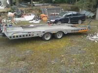 16 x 7 tilt bed car transporter trailer