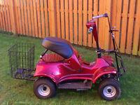 i-motion im4 electric single seat golf buggy