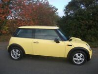 2005 MINI ONE MOT OCTOBER 2018 ONLY 3 OWNERS FROM NEW