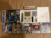 Game Boy Complete Boxed Set & Games