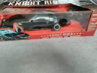 Retro knight rider car