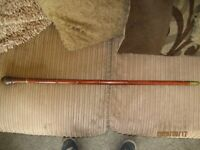 antique bamboo walking stick