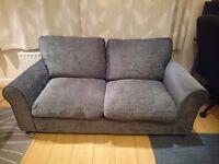 Sofa - good condition - 2 seater grey sofa