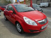 vauxhall corsa 1.2 active 3dr 2009 model,80,000 miles,12 months mot on purchase,alloy wheels