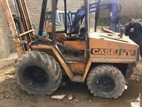Case rough terrain forklift spares or repairs