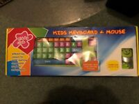Kiddy Club - Children's Computer Keyboard and Mouse
