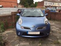 Convertible ' 2008 Nissan Micra 1.6 Tekna C+C ' 67000 Miles' Heated Leather Seats AirCon micra