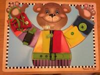 Melissa & Doug wooden puzzle