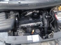 Auy 1.9 tdi VW engine and 6speed gearbox complete can be seen running before removed