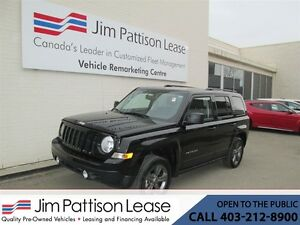 2015 Jeep Patriot 2.4L 4X4 High Altitude w/Bluetooth & Leather