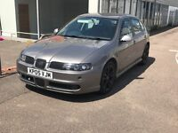 Seat Leon fr petrol turbo (Audi tt s3 vw golf gti cupra)