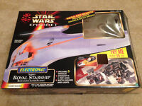 REDUCED Star Wars Episode 1 Royal Starship Blockage Cruiser playset - used,with box - Didsbury area
