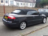 2005 Saab 9-3 Convertible Turbo low mileage with full service history
