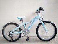 "(2745) 20"" Lightweight Aluminium GIANT AREVA GIRLS MOUNTAIN HYBRID BIKE BICYCLE Age: 6-9, 120-135 cm"