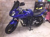Yamaha fazer 600 s2 only 7000 miles immaculate condition