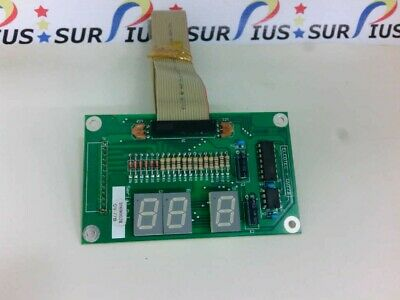Ussp Dibipack 6084 Shrink Wrapper Controller Panel Circuit Board Elcotec-gv77b