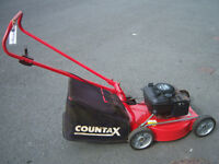 countax sabre 19 push mower, alloy deck, rear collector gwo
