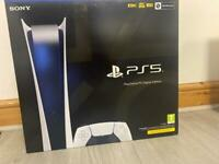 PS5 Digital unboxed BRAND NEW**
