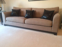 John Lewis 3 Seater Sofa with one Seater Arm Chair in excellent condition.