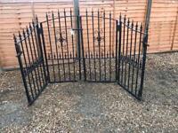 Beautiful Black Iron Gates