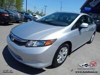 2012 Honda Civic DX  **26,68$/sem**