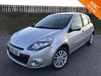 2010 RENAULT CLIO DYNAMIQUE 1.5 DCI - 57K MILES - F.S.H - 5 STAR SAFETY RATING - 6 MONTHS WARRANTY