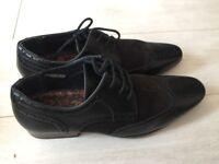 River island men's formal shoes size 8/42
